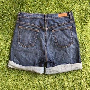 Modcloth angry rabbit dark wash denim shorts 27